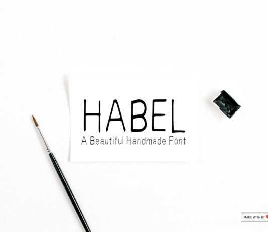 Free Habel Handwriting Font