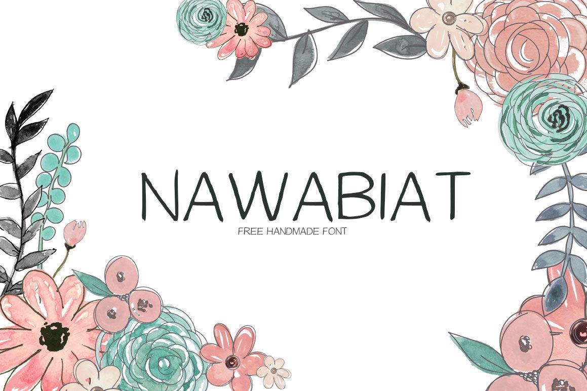 FREE NAWABIAT HANDWRITING FONT