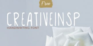 Free Creativeinsp Handwriting Font