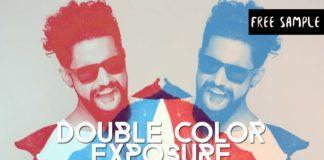 Free Double Color Exposure Photoshop Actions Vol.2