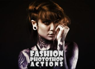 FREE ELEGANT FASHION PHOTOSHOP ACTIONS