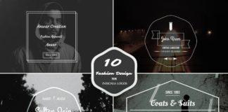 Free 10 Fashion Insignia Logo