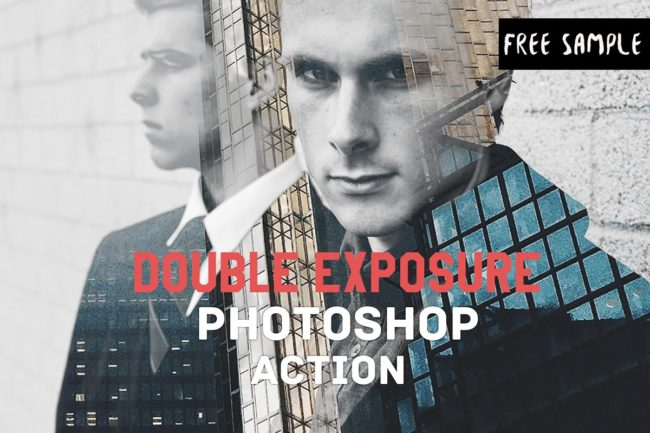 Free Double Exposure Photoshop Actions V1