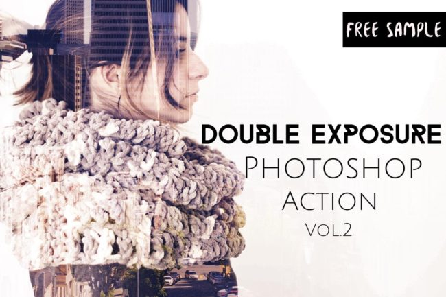 Free Double Exposure Photoshop Actions V.2