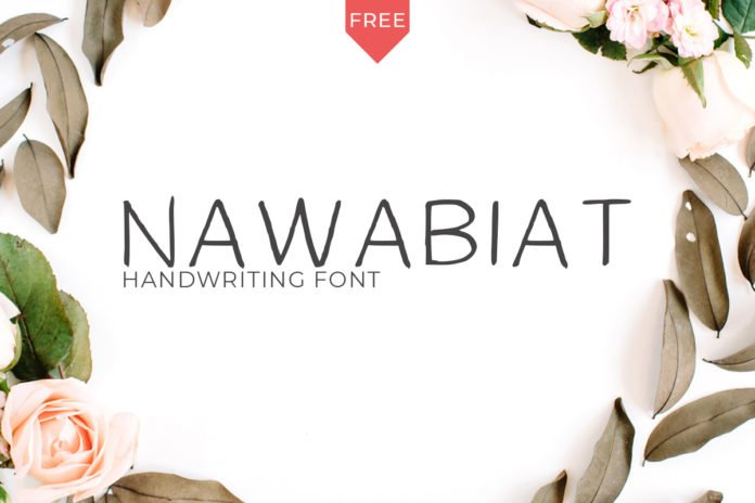 Free Nawabiat Handwriting Font