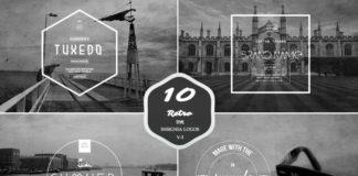 10 RETRO INSIGNIA LOGOS AND BADGES V2