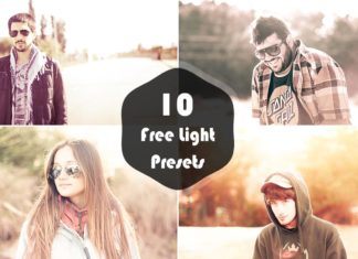 10 Free Light Lightroom Presets Vol.1