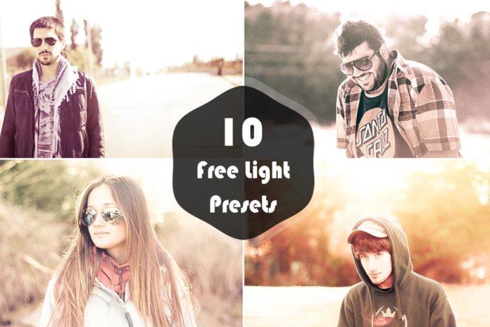 10 Free Light Lightroom Presets Vol.1
