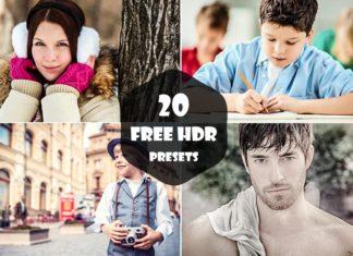 20 Free Profession HDR Lightroom Presets