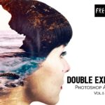 Free Double Exposure Photoshop Actions Vol.5