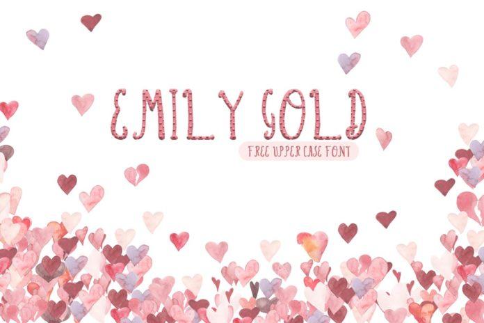 Free Emily Gold Script Font