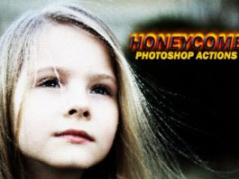 Free Honeycomb Photoshop Actions