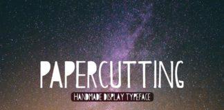 Free Papercutting Font