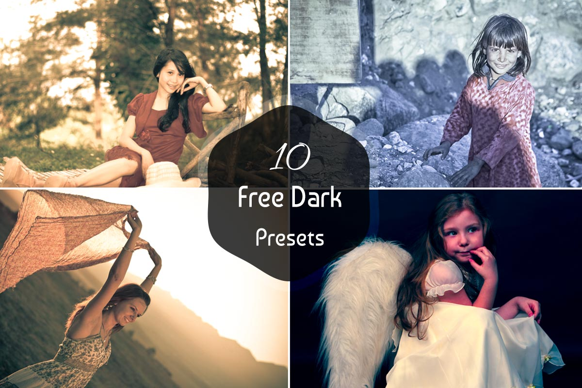 10 Free Dark Lightroom Presets V1