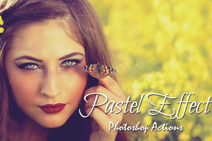 40 Free Pastel Effect Photoshop Actions