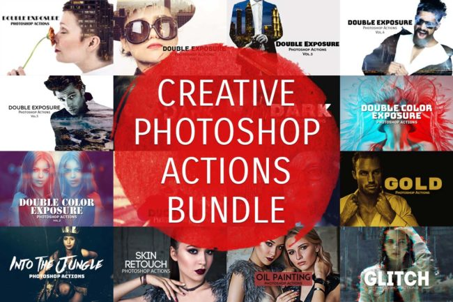 500+ Creative Photoshop Actions 2016