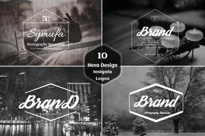 10 Free Hexa Shape Insignia Logo