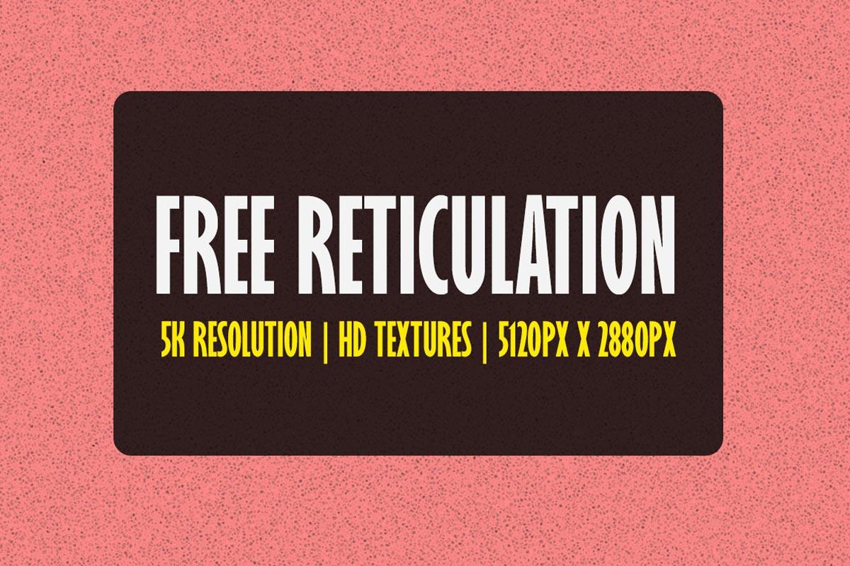 Free 5K Reticulation Textures