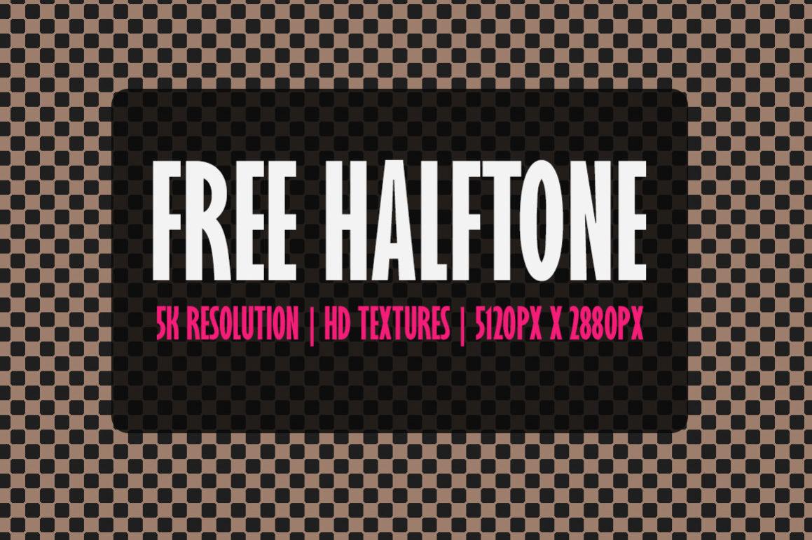Free 5K Halftone Textures