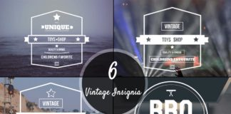 Free 6 Vintage Insignia Logos