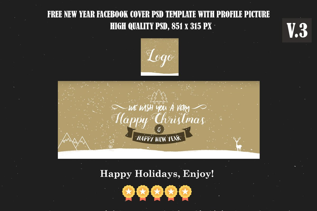 New Year Facebook