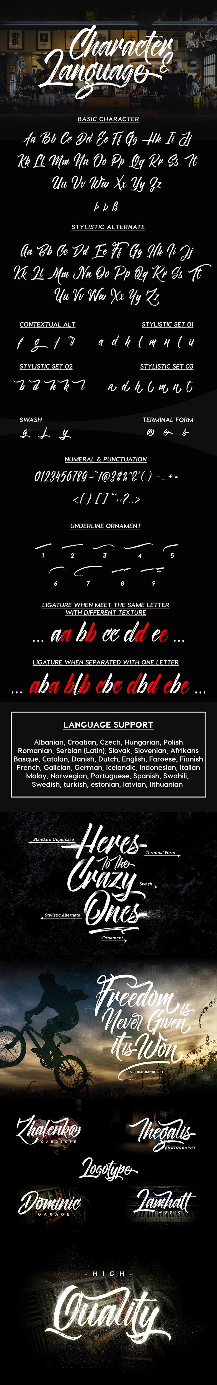 Free Novitha Script Font