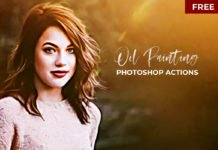 Free Oil Painting Photoshop Actions Version.2