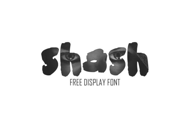 Free Shash Display Typeface