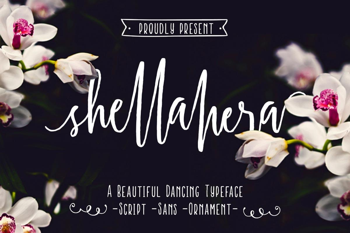 Free Shellahera Script Font