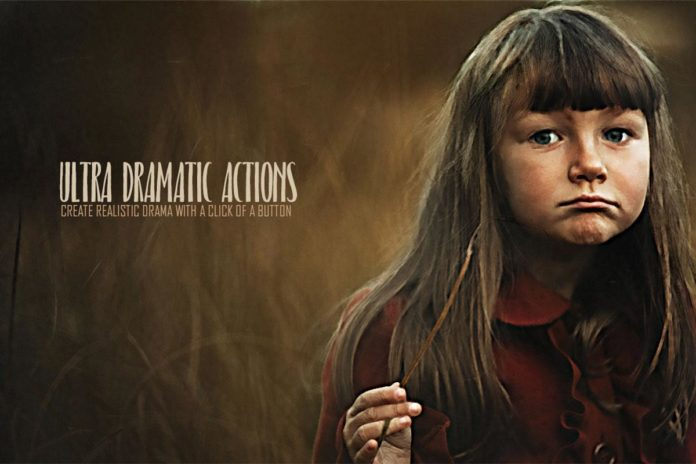 Free Ultra Dramatic Photoshop Actions