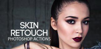 Skin Retouch Pro Photoshop Actions Kit