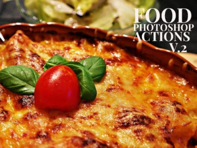 Free Photoshop Actions For Food Photography V.2