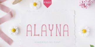Alayna Handwritten Font