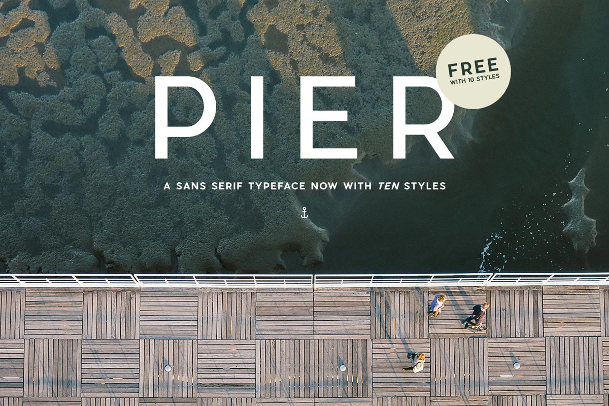 Pier Sans Serif Font