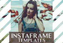 Free InstaFrame Template