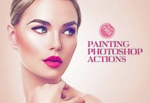 Oil Painting Photoshop Actions