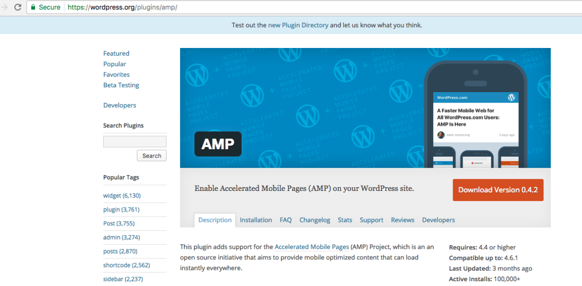 How to setup your website with Google AMP pages and WordPress