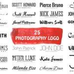 Free 25 Minimal Logo For Photographers & Minimalist Lovers