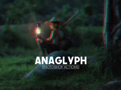 Free Anaglyph Photoshop Actions