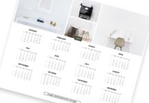 Minimalist Printable Calendar