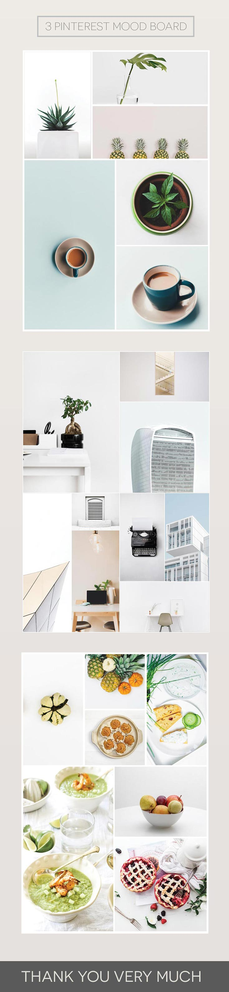 Free Pinterest Mood Board Is A Freebie Pack Containing 3 Templates
