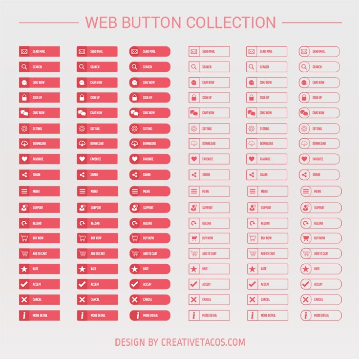 Free Web Buttons Collection