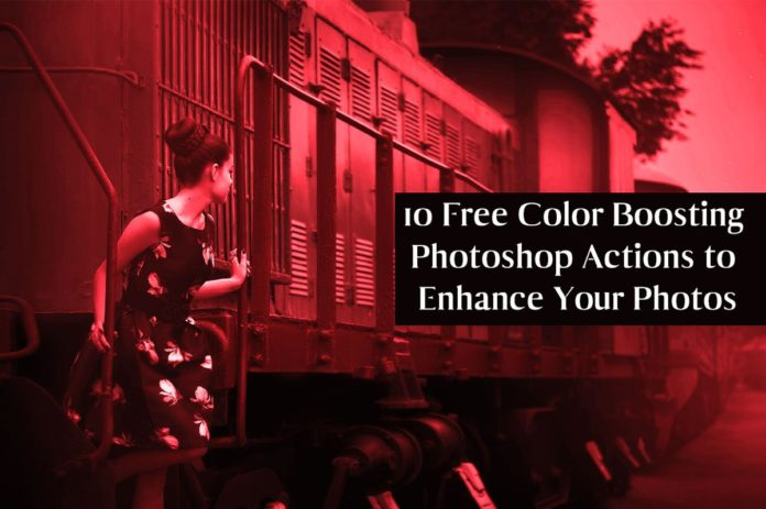 10 Free Color Boosting Photoshop Actions to Enhance Your Photos