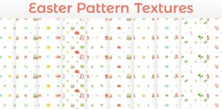 11 Free Easter Eggs Patterns HD Textures