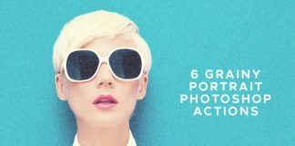 6 Free Grainy Portrait Photoshop Actions