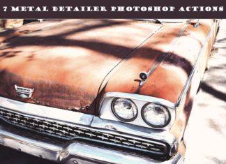 7 Free Metal Detailer Photoshop Actions
