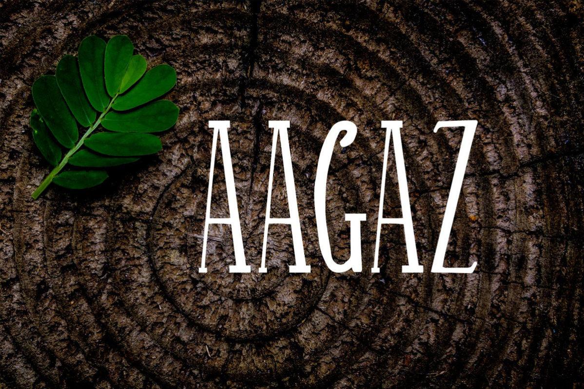 Free Aagaz Handmade Font