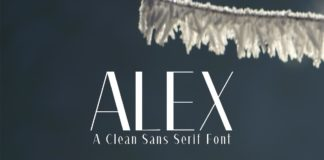 Free Alex Fashion Font
