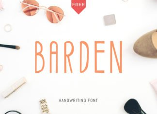 Free Barden Font