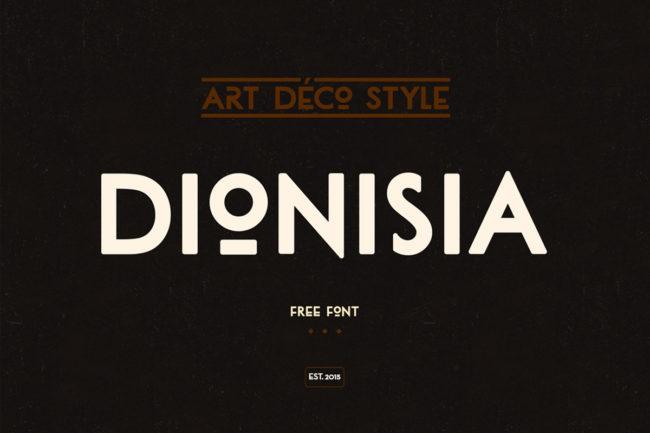 Free Dionisia Font